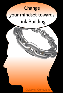 changing your mindset towards link building