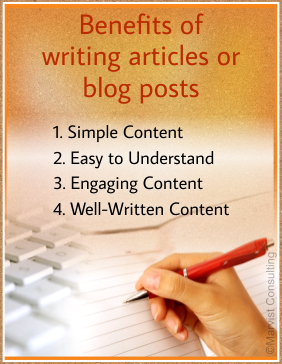 benefits of writing articles