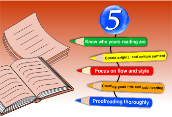 Five Ingredients that Make a Good Article for the Web