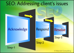 3-step approach_ a better way to address client's issues in seo industry