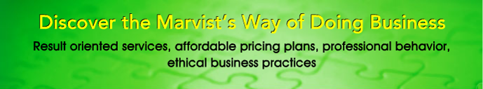 Discover the marvist's way of doing Business
